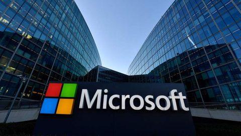 Microsoft Hauptquartier in Kalifornien.