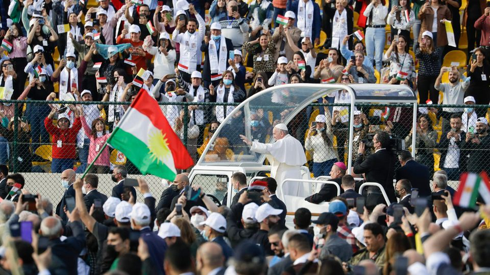 Papst Franziskus im Irak