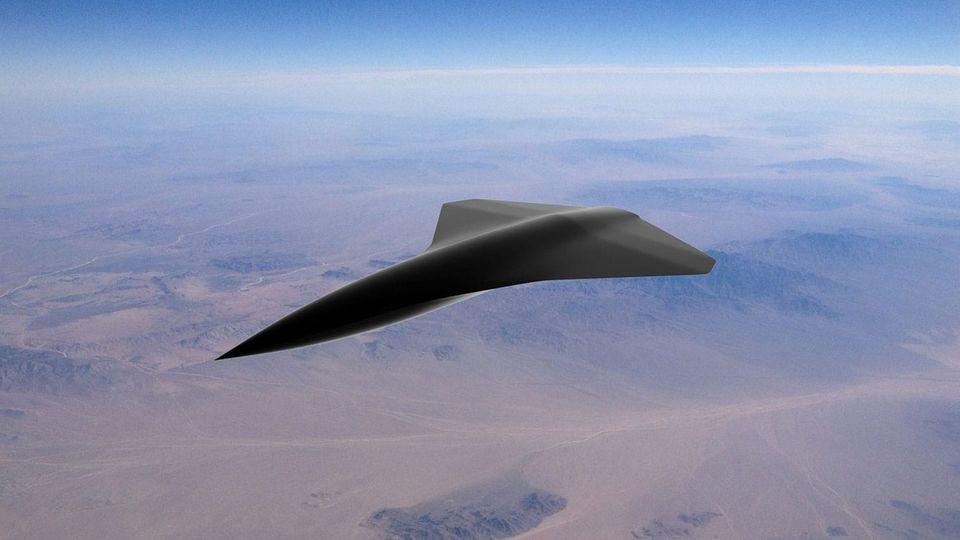 Die Drohne soll Mach 2,1 erreichen können.