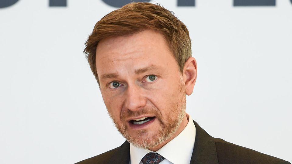 FDP-Chef Christian Lindner äußert sich im ntv-Frühstart zur sogenannten Masken-Affäre (Symbolbild)