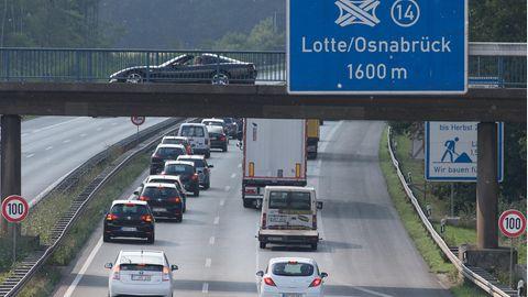Nachrichten aus Deutschland: A30 bei Osnabrück