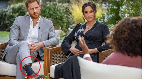 Harry und Meghan beim Interview mit Oprah Winfrey