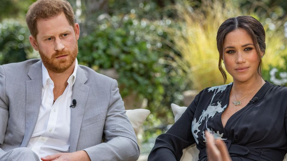 Meghan und Harry im Interview mit Oprah