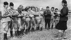 Die Nachthexen 1944 in Belorussland.