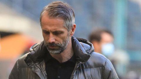 Gladbachs Trainer Marco Rose