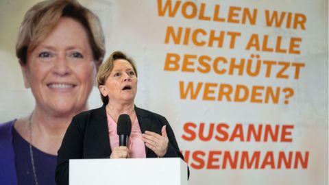Susanne Eisenmann, Spitzenkandidatin der baden-württembergischen CDU für die kommende Landtagswahl