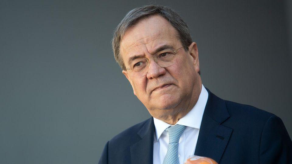 CDU-Vorsitzender Armin Laschet will im Wahljahr Schaden von der Union durch die Maskenaffäre abwenden