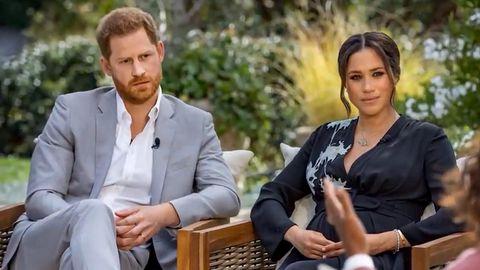 Harry und Meghan bei Oprah