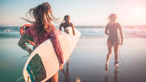 In Australien genießen die Menschen bereits wieder das normale Leben