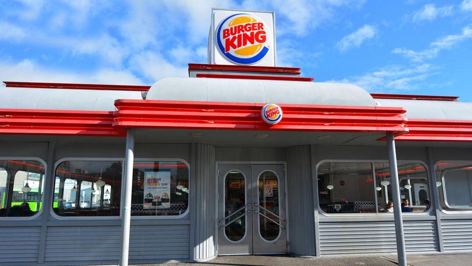 Eine Filiale von Burger King