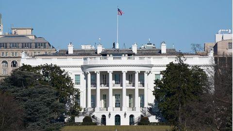 Bild zeigt das Weiße Haus