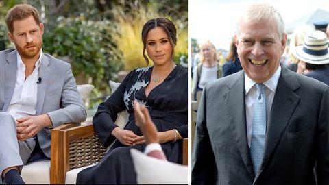 Prinz Harry, Herzogin Meghan, Prinz Andrew