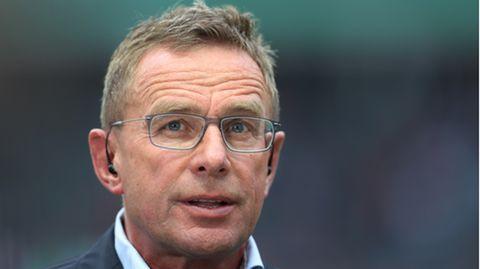 Ralf Rangnick, ehemaliger RB-Trainer und Sportdirektor von Leipzig