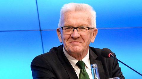 Ministerpräsident von Baden-Württemberg: Winfried Kretschmann