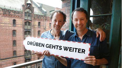 Die Gründer des Miniatur Wunderland Gerrit (l.) und Frederik Braun lassen sich von Corona nicht entmutigen.