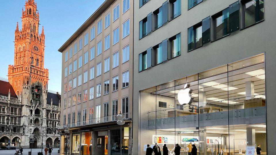 Apple ist in Deutschland seit Jahrzehnten mit der Stadt München verwurzelt.