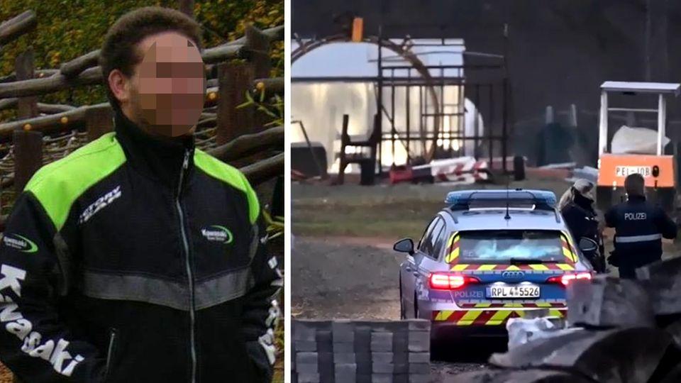 Fahndungsfoto; Polizeieinsatz in Weilerbach