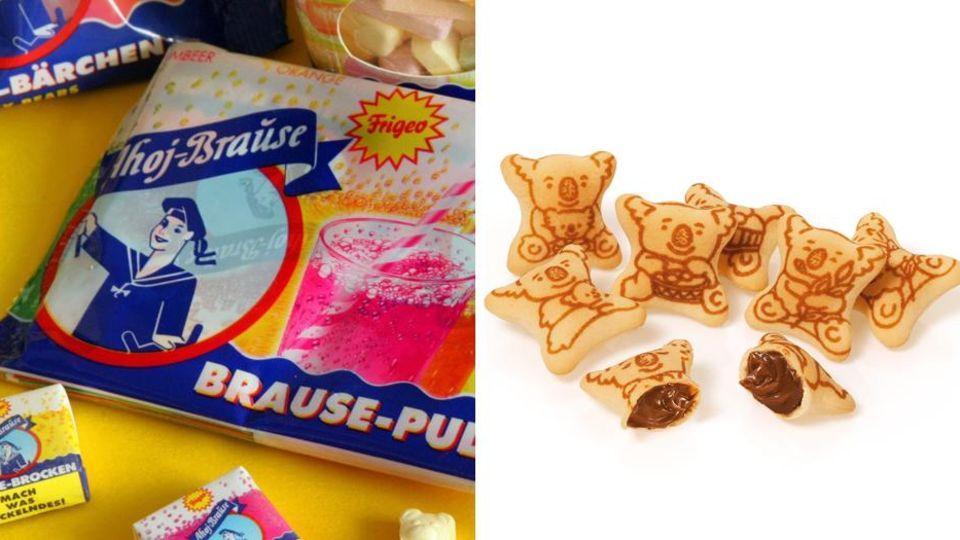 Ahoj-Brause und Koala-Kekse