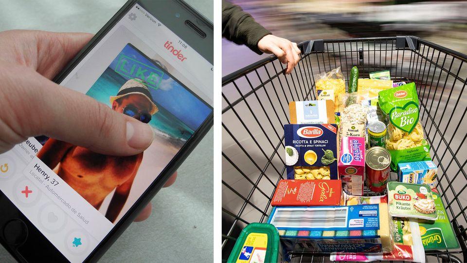 Tindern beim Einkaufen? – Supermarkt stellt Dating-Konzept für Kunden vor