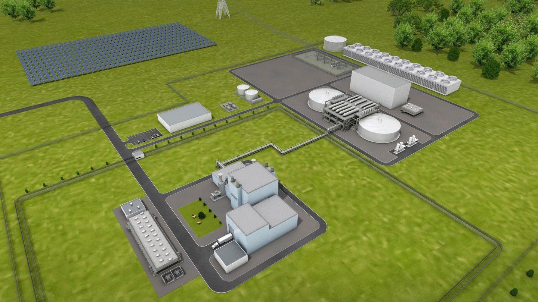 Die Anlage wurde unter Kostengesichtspunkten entwickelt.