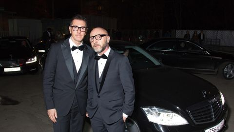 Stefano Gabbana und Domenico Dolce
