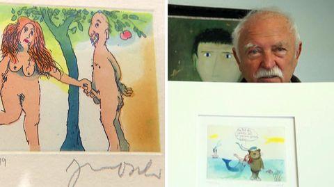 Janosch feiert 90. Geburtstag: Zwischen Tigerente und nicht-jugendfreien Zeichnungen