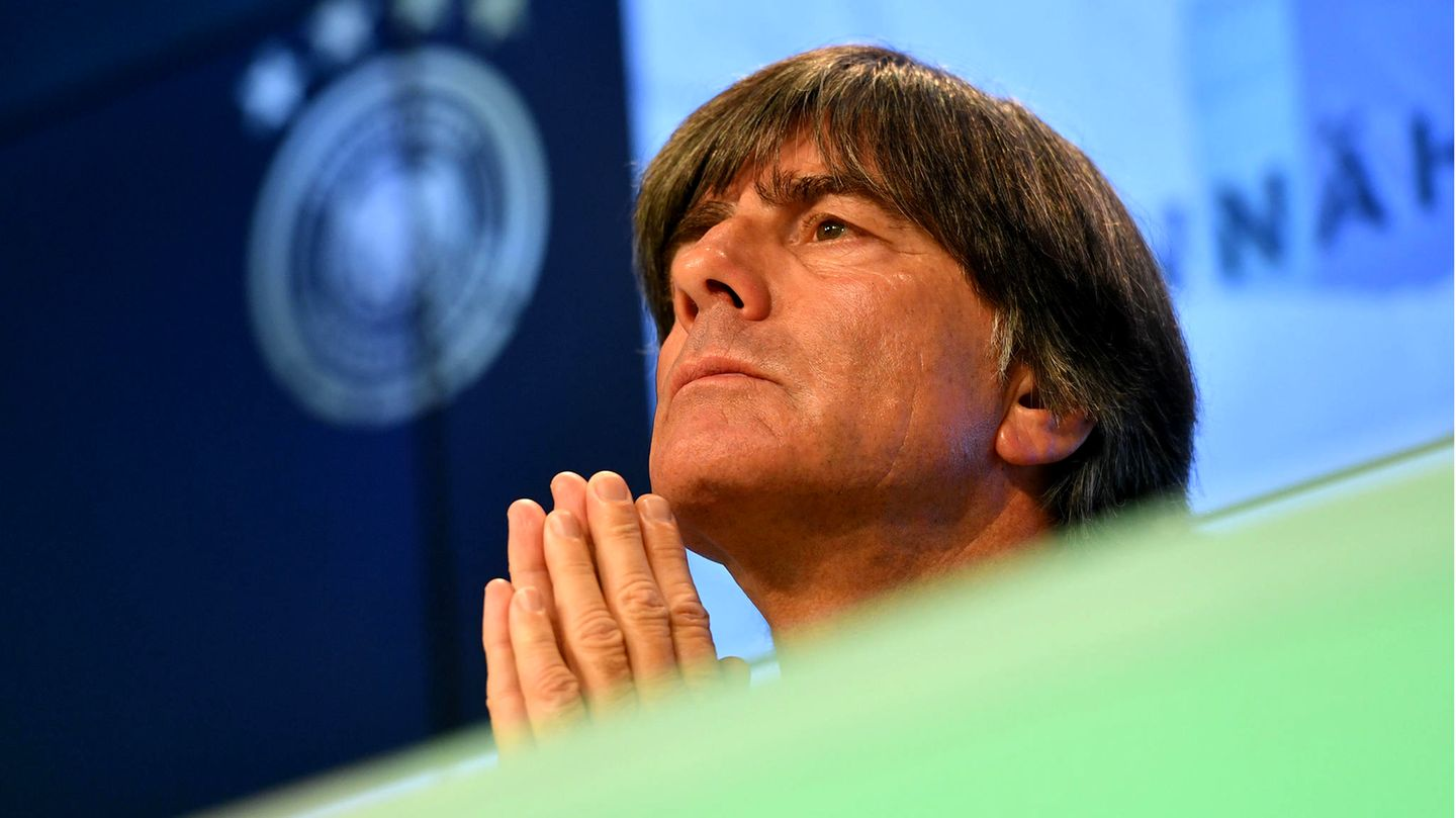 Public statement on the cancellation: Emotional, yet distant: Jogi Löw explained, and leaves some questions