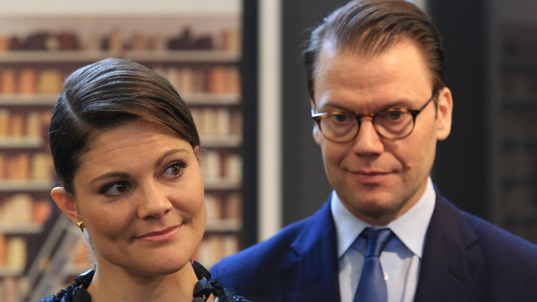 Schwedens Kronprinzessin Victoria und Prinz Daniel