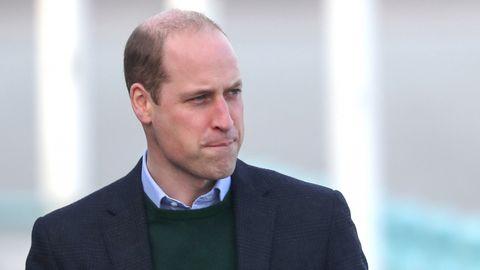 Prinz William bei einem Besuch in Wales im Jahr 2020