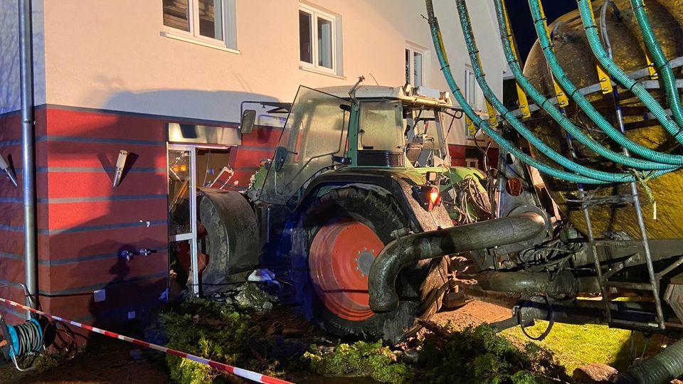 Nachrichten aus Deutschland : Unfall in Hoßkirch