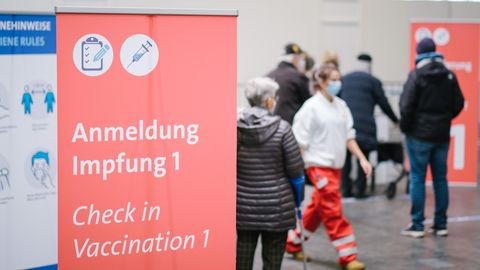 Anmeldung für Patient:innen im Impfzentrum Hannover