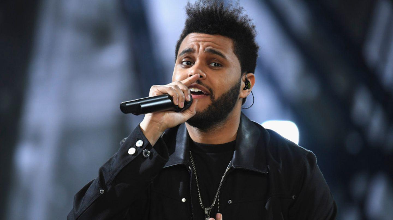 Der kanadische Sänger The Weeknd bei einem Auftritt im Jahr 2019.