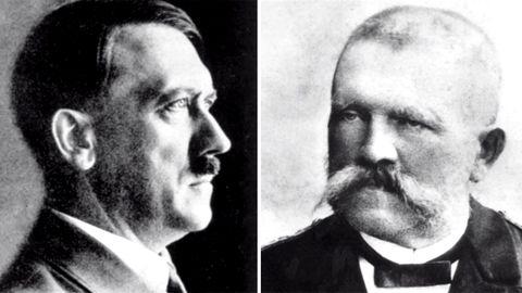 Adolf Hitler und Alois Hitler