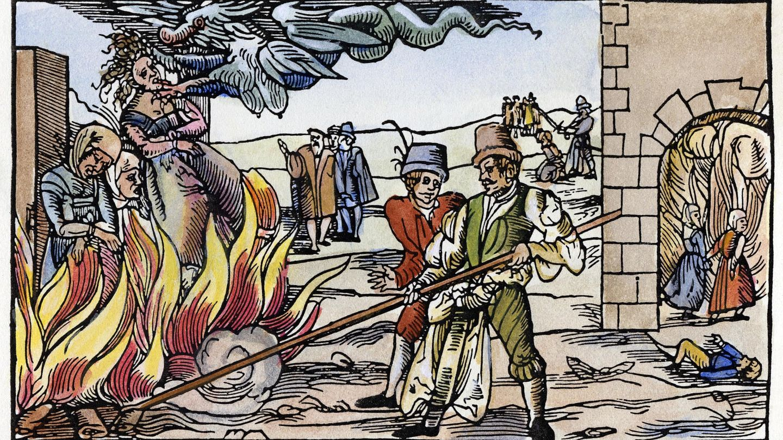 In der Zeit des Hexenwahn war schon der bloße Verdacht oft tödlich.