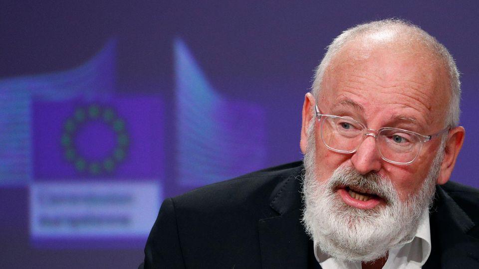 Frans Timmermans, Vizepräsident der Europäischen Kommission
