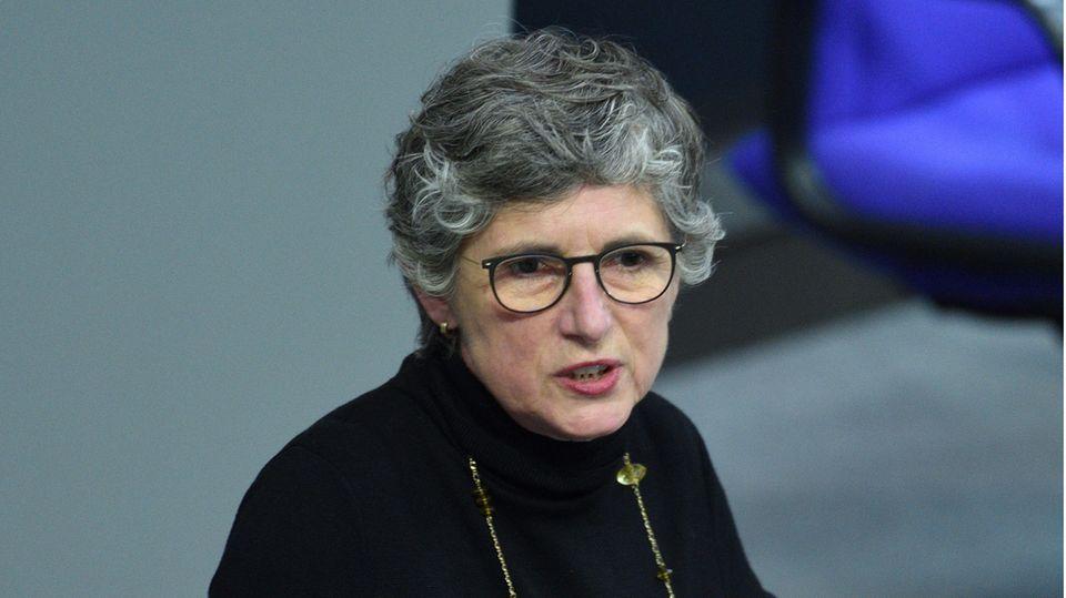 Britta Haßelmann im Bundestag