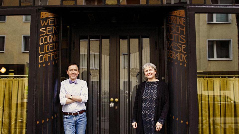 Vincent und Liliane Moissonnier, Restaurant Moissonnier, Köln