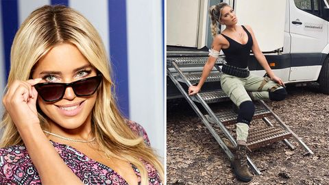Lara Croft : Sylvie Meis tritt im TV in Tom-Raider-Outfit auf (Video)