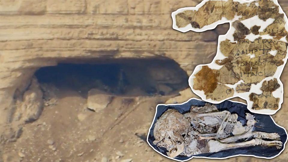 """Israel: Sensationsfund in """"Horror-Höhle"""": 2000 Jahre alte Bibeltexte entdeckt"""