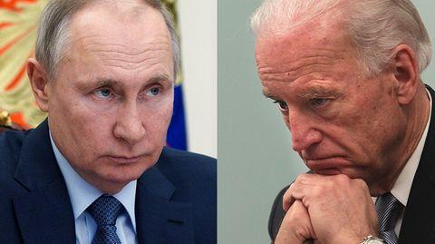Wladimir Putin und Joe Biden
