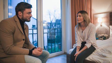 """""""Der Bachelor"""": Niko Griesert im Gespräch mit Kandidatin Stephie"""