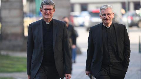 Kardinal Rainer Maria Woelki und Dominikus Schwaderlapp