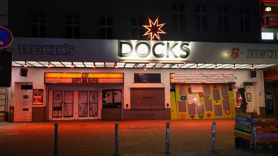 Das Docks, einer der bekanntesten Hamburger Live-Clubs