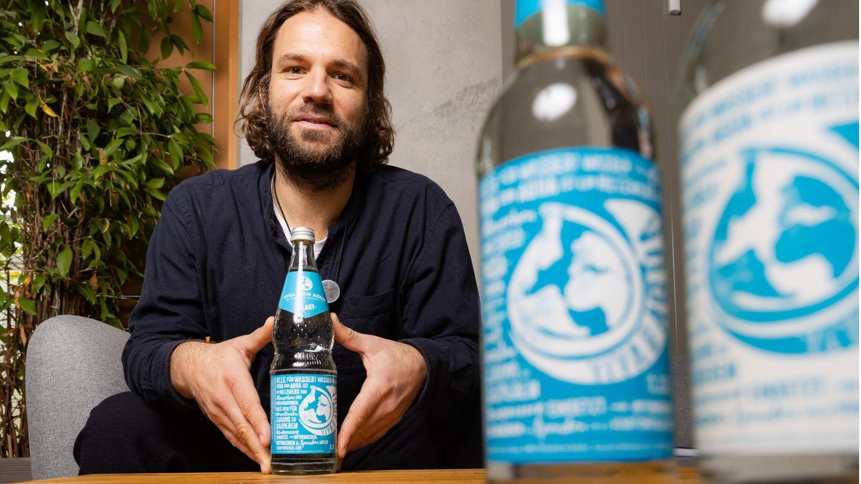 Benjamin Adrion, der Gründer der Hilfsorganisation Viva con Agua