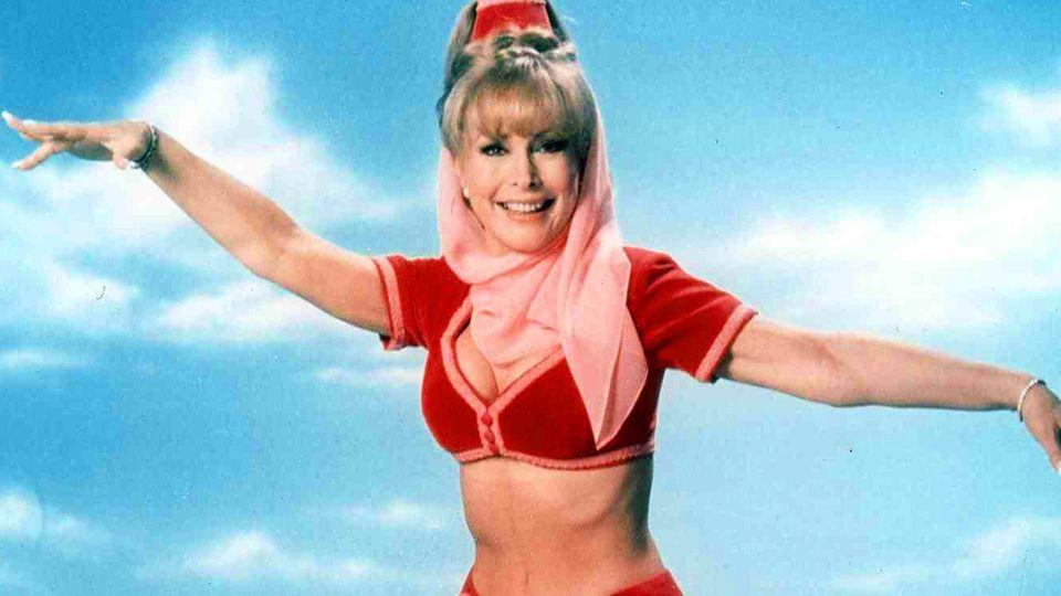 Jeannie: Was wurde auf Barbara Eden?