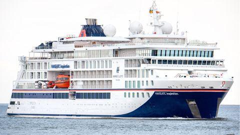 """Die """"Hanseatic Inspiration"""" auf der Elbe"""