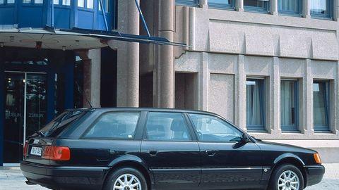 Audi C4 100 Avant 2.5 TDI leistete 85 kW / 115 PS