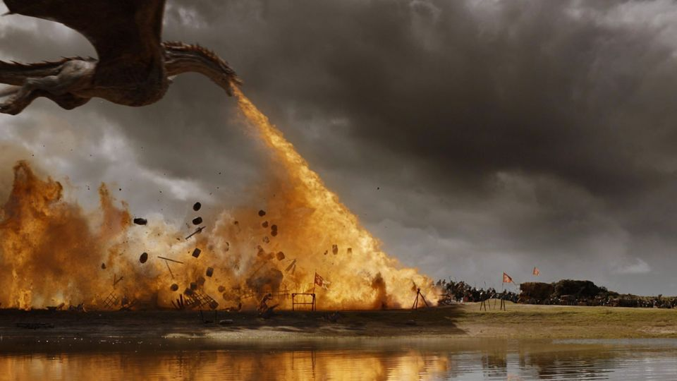 "Szene aus der Serie ""Game of Thrones"""