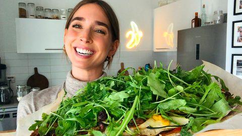 Natalie Gleitmann zeigt ihr Pizza-Rezept