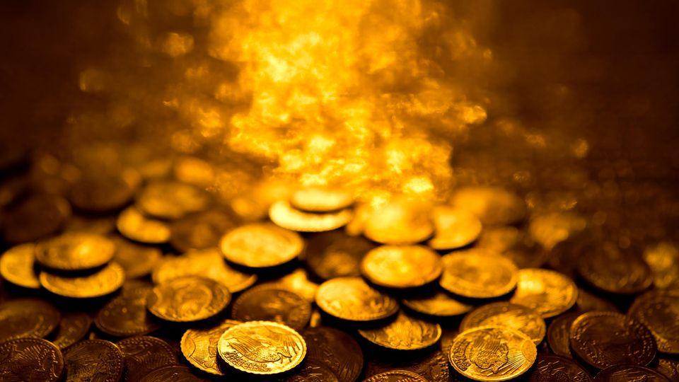 Das letzte Gehalt kam in Pennies (Symbolbild)